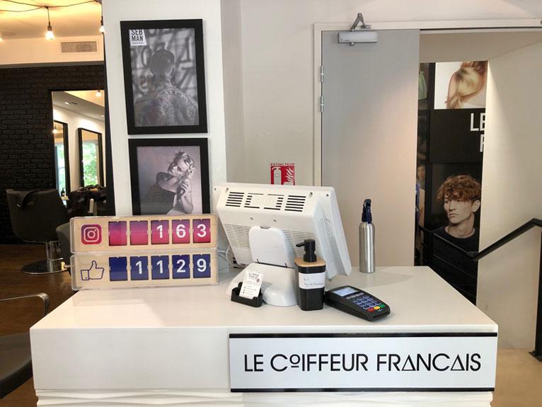 Le Coiffeur Français sur les Réseaux Sociaux